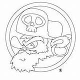 Pirate Flag Coloring Pages Drawing Skull Printable Island Getcolorings Getdrawings Activities Crafts sketch template