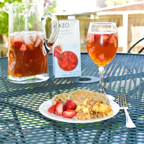 Backyard Sippable Moments With Virgin Mango Passion Tea