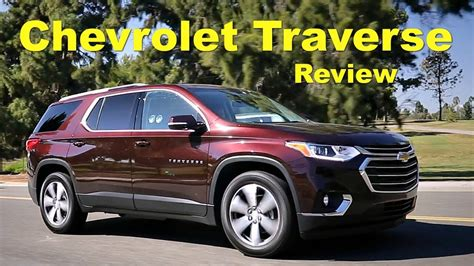 chevrolet traverse review  road test youtube