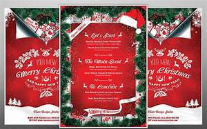 free award templates for word 13 best christmas menu templates for any restaurant