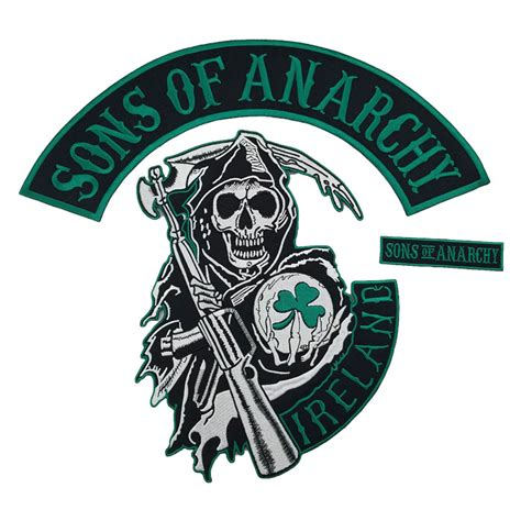 sons of anarchy patches wholesale ireland sons of anarchy embroidery patch buy