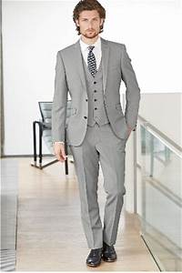 handsome side vent light grey groom tuxedos slim fit men39s With wedding dresses and tuxedos