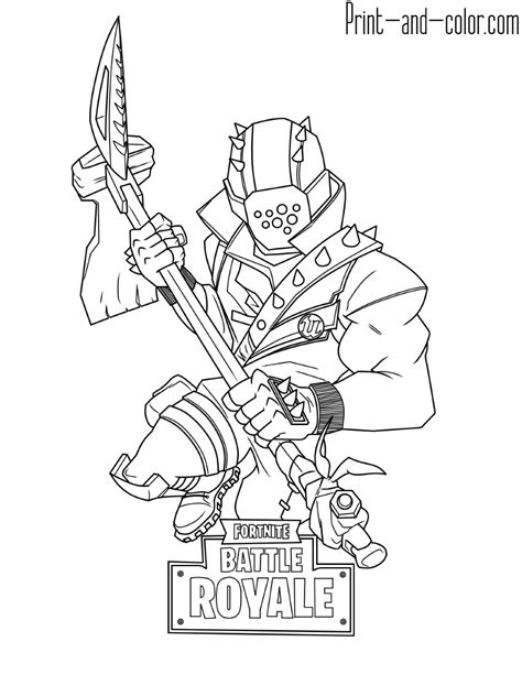 Best Fortnite Coloring Pages Ideas And Images On Bing Find What