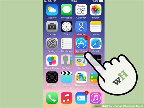 how to change the color on your iphone 2 easy ways to change imessage color wikihow