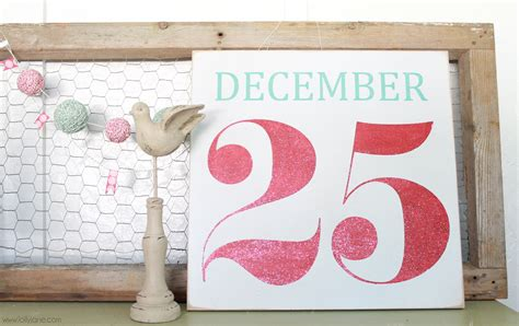 december  christmas signs