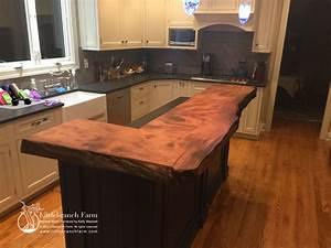 Natural Wood Countertops Live Edge Wood Slabs