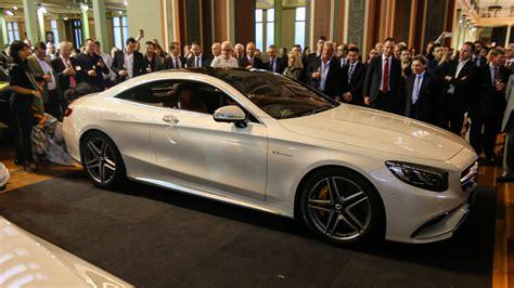 mercedes benz s class coupe makes australian premiere