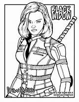 Widow Avengers Draw Drawing Marvel Coloriage Too Infinity War Sketch Coloring Colouring Dessin Drawittoo Mcu Kolorowanki Tutorial sketch template