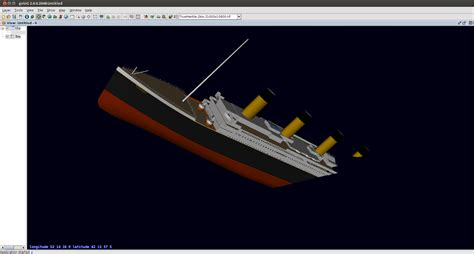 titanic sinking animation 3d pin titanic 3d animated reconstruction of how sank
