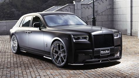 wald rolls royce phantom sports  black bison edition
