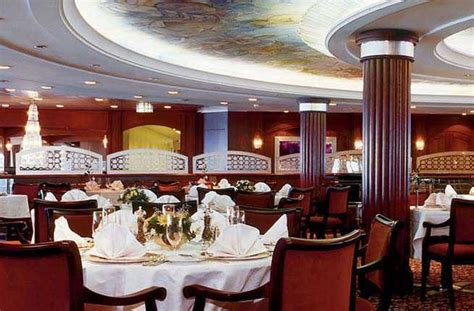 cruise ship dining experiences fodors