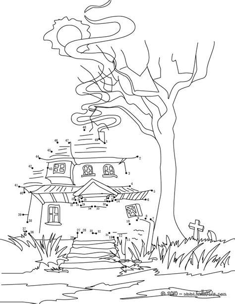 2 Tiny Häuser Verbinden by Spukhaus Punkte Verbinden Zum Ausmalen De