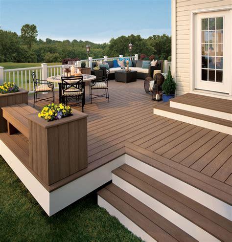 composite deck ideas composite decks thunder wash