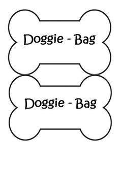 printable dog bone template crafts pinterest