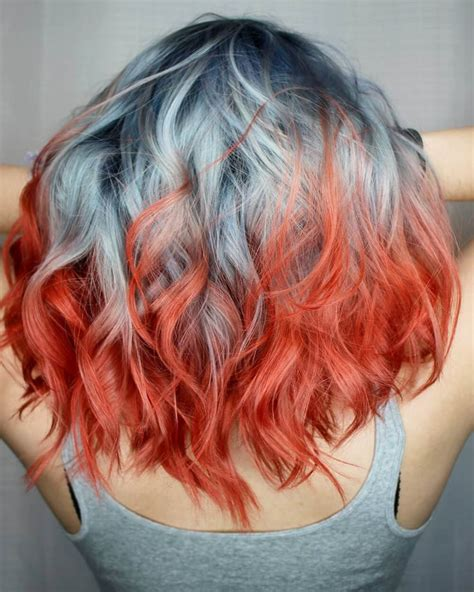 multi hair color multi colored hairstyles pictures hairstyles by unixcode