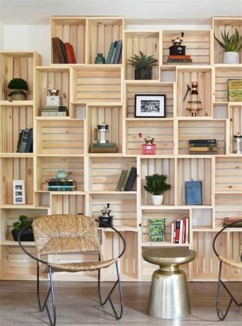 1001 id 233 es et tutos pour fabriquer un meuble en cagette charmant