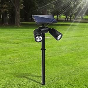 Spot Solaire Extérieur : projecteur solaire jardin votre top 9 pour 2019 meilleur ~ Melissatoandfro.com Idées de Décoration