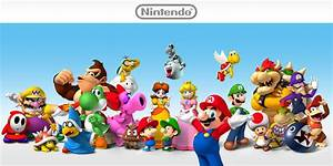 Nintendo Characters Hub Nintendo Characters Hub Games