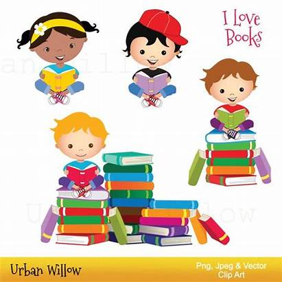 Clipart Library Books Reading Clip Cliparts Clipground