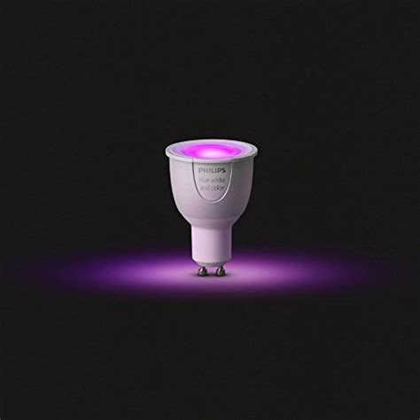 philips hue white and color ambiance gu10 dimmable led
