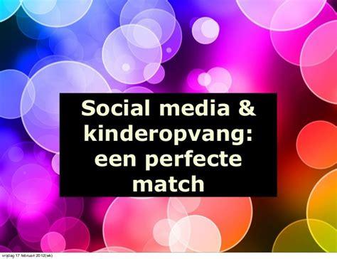 match si e social kinderopvang en social media een perfecte match