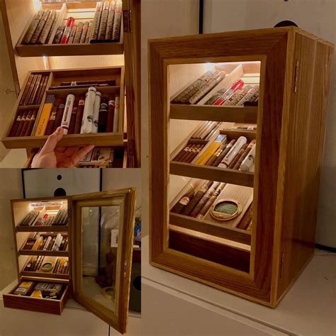 finished  humidor cabinet httpswwwreddit