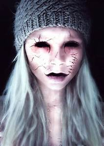 Halloween Make Up Puppe : 20 scary halloween ghost make up ideas ~ Frokenaadalensverden.com Haus und Dekorationen