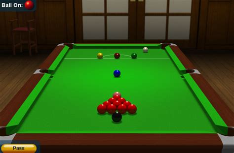 snooker games play snooker
