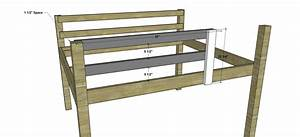 Free Woodworking Plans to Build a Full Sized Low Loft Bunk ...