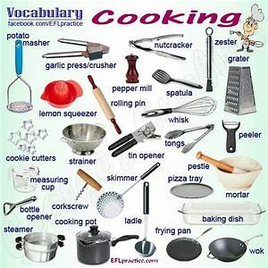 Kitchen Utensils List With Pictures And Uses Pdf Kitchen