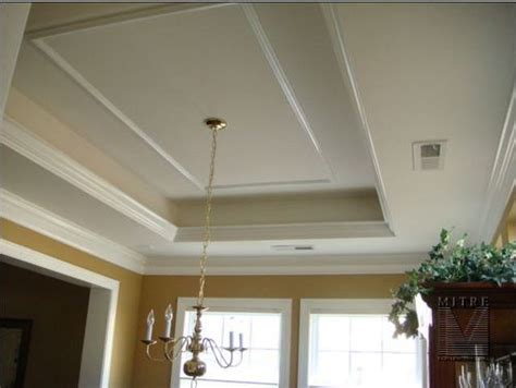 Tray Ceiling Crown Molding by Ceiling Crown Molding In Kitchen 15 Tray Ceiling With