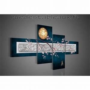 Tableau Peinture Pas Cher : tableau oriental pas cher table de lit a roulettes ~ Teatrodelosmanantiales.com Idées de Décoration