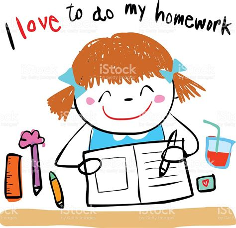 Do Home Work by Homework Clipart I Pencil And In Color Homework