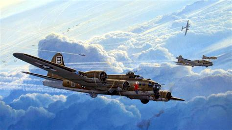 Boeing B-17 Flying Fortress Wallpaper And Background Image