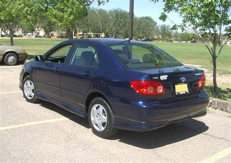 2005 Toyota Corolla Le by 2005 Toyota Corolla Le Sedan 1 8l Manual