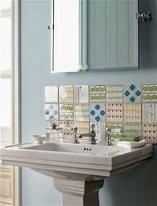 Backslash pedestal sink bath pinterest pedestal for Pedestal sink backsplash ideas