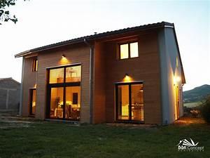 Maison Bioclimatique Passive : constructeur maison bois passive 63 auvergne ~ Melissatoandfro.com Idées de Décoration