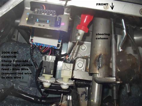 2006 chevy colorado brake controller installation instructions