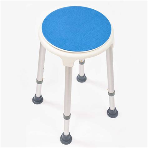 nrs shower stool with swivel seat nrs healthcare