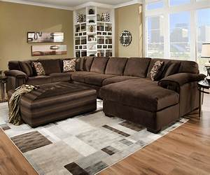 Lovely deep sectional sofa best of sofa furnitures for Movie pit sectional sofa