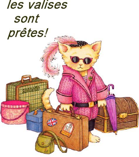 humour chat les valises sont pretes vacances