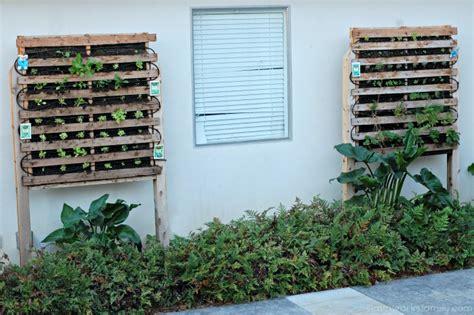 build a vertical garden how to build a vertical garden using pallets