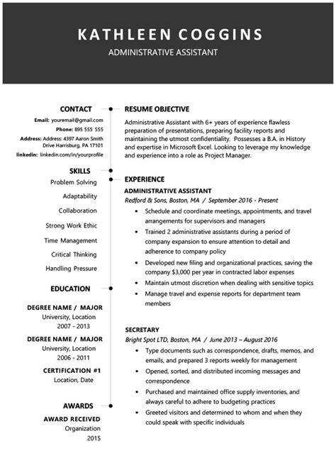 Downloadable Free Resume Templates by Totally Free Downloadable Resume Templates
