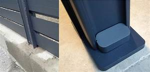 Panneau Brise Vue Composite : brise vue aluminium au prix d 39 une cloture pvc ou cloture composite ~ Nature-et-papiers.com Idées de Décoration
