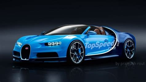 Bugatti Chiron @ Top Speed