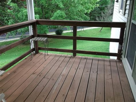 Horizontal Deck Railing Plans by Concept And Design Of Horizontal Deck Railing For