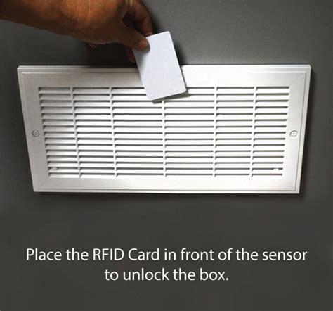 diversion safe w rfid lock vent wall diversion safe w rfid secure access Shelf