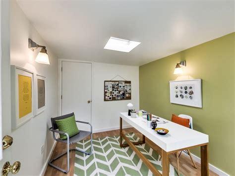 chaise de bureau blanche design peinture verte 3 nuances de vert fraîches en 35 idées
