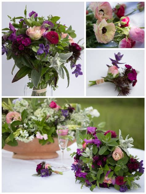 do it yourself wedding flowers using the freshest
