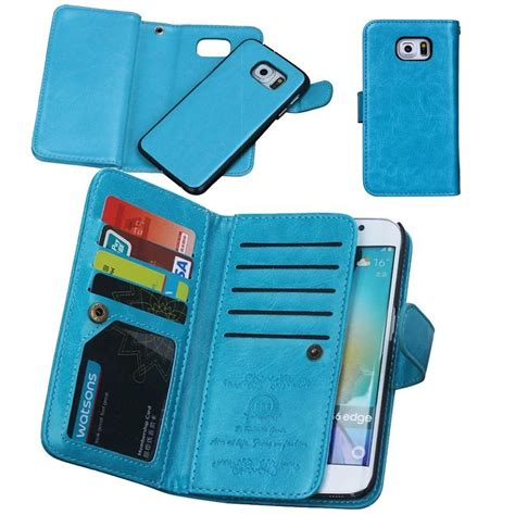 Exquisite cutouts offer an easier access to all ports,all buttons,sensors,speakers and camera on your phone. Eloiro Apple iPhone 6 6S PLUS Wallet Case, Multiple Credit Card Holder Slots Purse Case Magnet ...